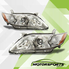 2007 2008 2009 Toyota Camry JDM Chrome Projector Headlights Head Lamps Assembly