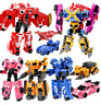 4Pcs MiniForce Bolt Max Semi Lucy Action Figure mini force kids Xmas Gift Toy