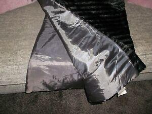 Black/Grey Sofa/Bed Throw