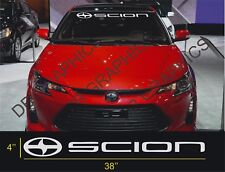 1 Scion Windshield Decal Sticker fr-s tc xb Large