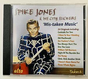 Mis-Taken Music by Spike Jones/Spike Jones & His City Slickers  CD  Aug 2008