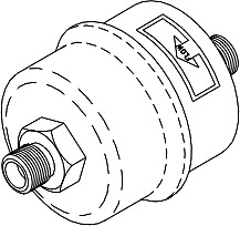 Air Vent Bellows Assembly for Midmark - Ritter (Diaphragm Style)