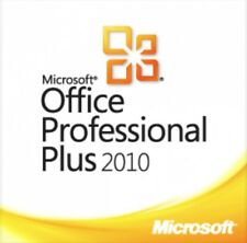 Microsoft Office 2010 Professional Plus 32/64 Bit - 1PC Lifetime License key