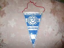 """MSV Duisburg Original 70iger Jahre Wimpel """"MEIDERICHER SPIELVEREIN 02 E.V."""" Neu"""