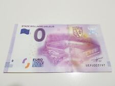 BILLETE 0 EUROS STADE BOLLAERT DELELIS  2016 RARE DE LA PRIMERA SERIE