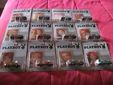 Complete Set 12 Months Playboy Playmate of the month car series Diamond Comic