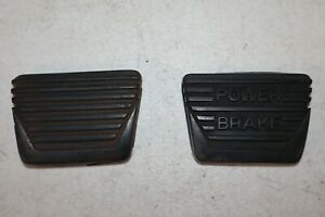 Original GM Power Brake Pedal Pad & Clutch Pedal Pad for 1963-1967 Corvettes