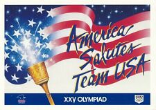 1984 Olympic Games Los Angeles, original postcard.