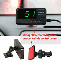 HEAD-UP DISPLAY HUD GPS 12V DIGITAL LED SPEEDO SPEEDS WARNING CAR BUS VAN USEFUL