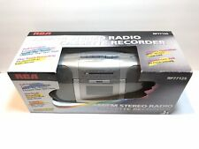 NEW OLD STOCK RCA FM Stereo Radio Cassette Tape-Deck Portable Boom Box RP7712S