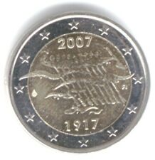 Finland 2007 - 2 Euro Comm-90yrs of Independence (UNC)