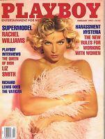 Playboy Magazine February 1992 Rachel Williams Tanya Beyer Liz Smith