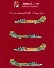 Tigerhead Decals 1/72 LOCKHEED TF-104G STARFIGHTER Turkish Tiger Meet Aircraft