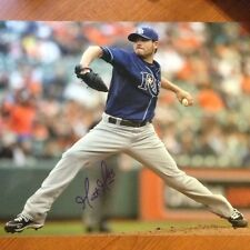 Matt Moore Signed Autographed 11x14 Photo Tampa Bay Rays 2013 Cy Young?