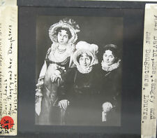 Louis David. Mme. Tangry And Daughters Lantern Slide
