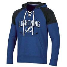 Tampa Bay Lightning Men's Hat Trick Laced Hoodie, S 34 - 36
