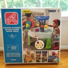 Step 2 Kids Summer Showers Splash Water Table. Water Toy. Sprinkler