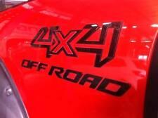 for pickup truck Ranger Hilux Navara BT50 4x4 Offroad acrylic sticker emboss