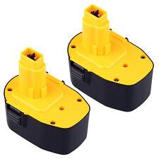 2 x Extended 3.0AH 14.4V DC9091 DW9091 DW9094 Battery for DEWALT 14.4 Volt Tools