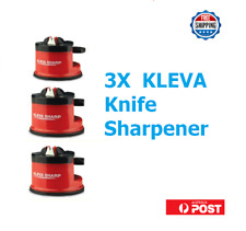 3x Knife Sharpener KLEVA Sharpner Sharp Diamond For Knives Blades Scissors Tools