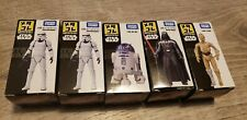 STAR WARS TAKARA TOMY METAL COLLECTION SERIES 1 LOT OF 5 FIGURES