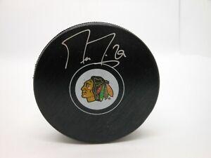 Marc-Andre Fleury Autographed Chicago Blackhawks Puck ! Fanatics