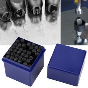 36pcs 5mm Number Letter Steel Stamp Punch Metal Stamp Punch Die Set Stamp Punch