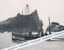 Gofrevy Rocks - Cornwall in England - Leuchtturm - um 1925     i 3 - 5