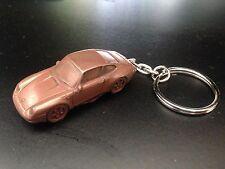 Porsche 911 Type 993 Limited Copper Effect 3D split-ring keyring FULL CAR ref194