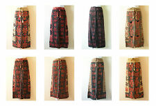 10pcs Sale Wholesale Bohemian Renaissance Heavily Embroidered Long Skirt - M & L