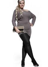 Nero 6 Collant Size Plus Taglie comode XXL 0 den Amy Adrian ( ) (5zq)