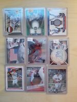 30 Card Lot: Auto, Rookie, RC, Game Used, #ed, Refractor  Buy 3 Get 4th FREE