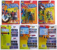 LOT X-Men: Nightcrawler 1993, Raza 1994, Rogue 1994 + Bonus!!! Comic Included!