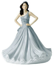 Royal Doulton Christine Pretty Ladies Figurine in Grey Dress HN5621 New In Box
