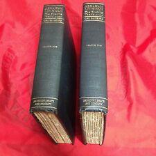 Abraham Lincoln The Prairie Years by Carl Sandburg, two volume set, 1926