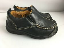 Timberland All Leather Slip On Shoes 5 EU 22 Toddler Designer Non Marking