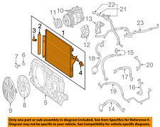 A/C AC Condenser, Compressor Line-Condenser 9065000554