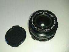 Vivitar 28mm 1:2 .8 MC messa a fuoco ravvicinata Wide Angle Lens Olympus Mount, Fungo