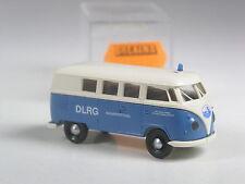 selten: Brekina VW T1 Bus DLRG Wasserrettung in OVP
