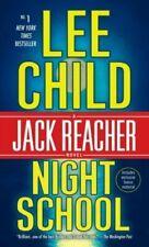 Night School : A Jack Reacher Novel by Lee Child- Paperback LIKE NEW