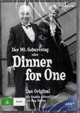 DINNER FOR ONE - ORIGINAL - DER 90.GEBURSTAG ODER  -  NEW DVD -  FREE LOCAL POST