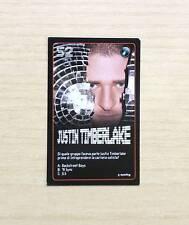 CARD ESSELUNGA - STARZONE 2011 - CARD N°52 JUSTIN TIMBERLAKE -STARS DELLA MUSICA