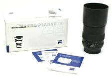 Near Mint Carl Zeiss Makro-Planar 100mm f2 T* ZE Macro Lens for Canon EF  #30417