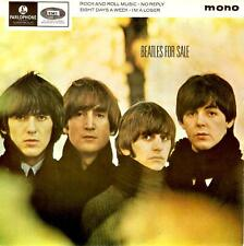 THE BEATLES Beatles For Sale EP Vinyl Record 7 Inch Parlophone Solid Centre Rock