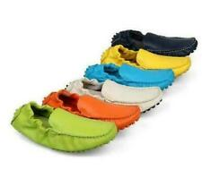 Mens Moccasins Loafers Slip on Soft Leather Comfy Gommino Casual Shoes 7 Colors