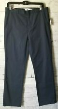 Old Navy Boy's Husky Straight Navy Blue Dress Casual Pants Size 16 32x30 NEW