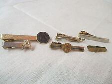 Vintage 6 gold tone Tie Clasps Anson Moon Lander TPT Co