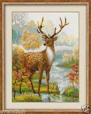 "Cross stitch kit RIOLIS ""Deer"" art. #1077"