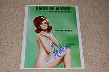 ANA MARIA POLVOROSO signed  Autogramm 20x25 In Person AIDA