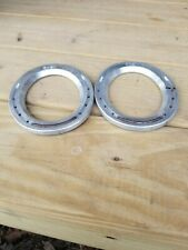 Kb -2 Egg Bar Aluminum Horse Shoe Horseshoes Nos set of 2, size 2